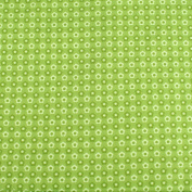 Green Daisies Leading Brand 100% Cotton Fat Quarter FQ Quilting, Bunting, Craft Fabric FQ130C