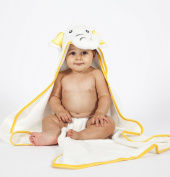 Luxury Hooded Baby Bath Towel with Elephant design | 100% Organic Bamboo Extra Soft for Newborn Baby, Toddlers and Kids | Great for Boys and Girls at Bath, Pool and Beach . Cotton
