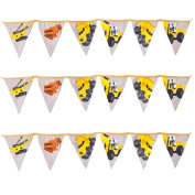 Ready Steady Bed® Diggers Design Children's Polycotton Bunting Room Decoration