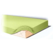 Lenzuolino Billo and Ball with Corners for Cot Green