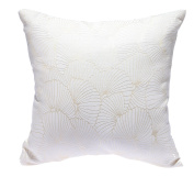 HYSENM 46cm x 46cm Elegant Dual-Sided Floral Anti-Fading Wedding Christmas Decorative Throw Pillow Cushion Sham Cover, beige, 46cm x 46cm