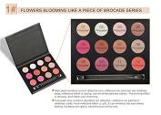 ThinkMax Women Fashion 12 Colours Smoky Nude Makeup Cosmetics Matte Pearl Eyeshadow Palette Beauty Tools