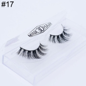 3D Soft Volume Long Makeup Fake Eye Lashes Thick False Eyelashes Beauty