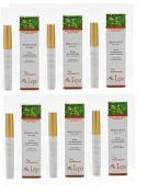 lepo – 6 x Mascara Black Pure Bio Nutrient, Colour Intensifier, voluminizzante