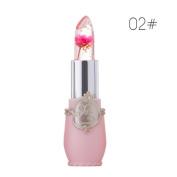 Jelly Lipstick, Wanshop® Beauty Bright Flower Crystal Jelly Lipstick Magic Temperature Change Colour Lip Waterproof Long Lasting Moisturising Lip