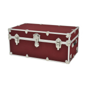 Phat Tommy Armoured Storage Trunk, Wine, Cube