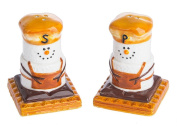 SMores Treats Campground Favourite Salt and Pepper Shaker Set Earthenware