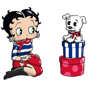 Betty Boop and Pudgy Dog Magnetic Salt and Pepper Shaker Set