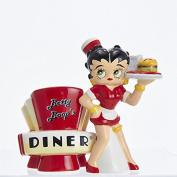Betty Boop Diner Magnetic Salt and Pepper Shaker Set
