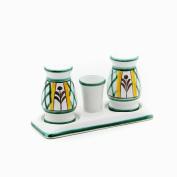 Gmundner Keramik Salt and Pepper Set, Hunter's Delight