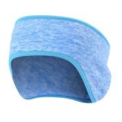 Winter Outdoor Headband Ear Warmer Fleece Elastic Hair Band Adults Men Women Ear Muffs for Sport Casual Wear