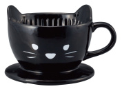 Ceramic Cat Shaped Cute Coffee Drip Filter Holder by Sunart SAN2542-2 from Japan