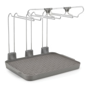 Polder KTH-640-432 Wine Glass Drying Rack, Silver