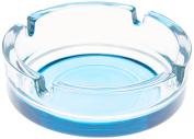 Novastyl 8013189.0 Smokey Glass Stackable Ashtray Clear Diameter 10.6 cm