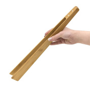 Balvi barbecue tongs BBQ & More Barbecue cooking bamboo tongs Don't scratch Easy cleaning Includes a magnet 40 cm Bamboo 40 x 5 x 4 cm