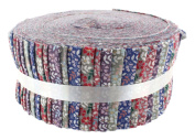 Fabric Freedom Floral Blenders Freedom Roll, 100% Cotton, Multicoloured, 13 x 13 x 7 cm