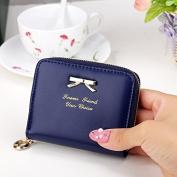 Kelaina Fashion Women Short Bowknot Purse Mini Wallet Coin Bag Card Holders
