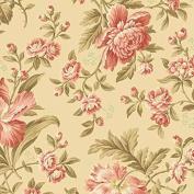 Cotton fabric - Metre - Andover - Crystal Farm - Rose Wheat