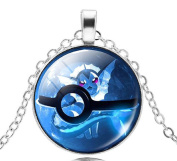 Pkmn2 - Necklace Pokemon Ball Go Poke 'Pokeball In 6 Colours To Choose From