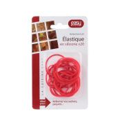 Easy Make Cream 20 Multi-Purpose Silicone Elastic Hair Ties