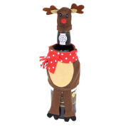 Felt Fabric Novelty Christmas Wine Bottle Cover Table Decoration - Reindeer