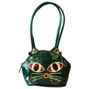 Pussy Cat Bag - green