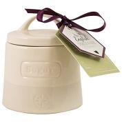English Tableware Co. Artisan Sugar Pot, Cream