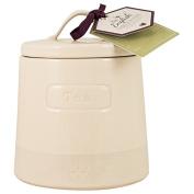 English Tableware Co. Artisan Tea Canister, Cream