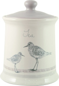 English Tableware Co. Sandpiper Stoneware Tea Storage Canister