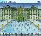 Grand Advent Calendar (WDM0086) - Somerset House Ice Skating - Glitter Varnished