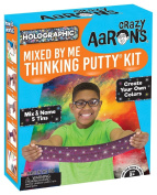 Crazy Aaron's Thinking Putty, HOLOGRAPHIC MIXED BY ME KIT, New for 2017