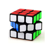 The Cube 3D Puzzle Game by Funlovers / Classic 3x 3 Magic Rubik Cube / Best Size 5.6cm * 5.6cm Brain Teasers/ Smooth Speed Twist Original Rubik Cube Colours