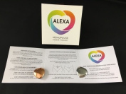Alexa Menopause Magnet, Powerful 2,000 Gauss Neodyium Magnet. A Natural Alternative to HRT. Drug Free Menopause Help, Sleep Better, Be Happier, Less Mood Swings,More Energy, No Hot Flushes