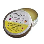 Geranium Bee Happy Balm Handmade using British Beeswax 100% Natural