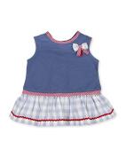 Tutto Piccolo Baby Girls' Fifí Dress, Blue (Indigo), 68