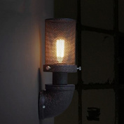 MEHE@ fashion Individuality creative American Industrial Wrought Iron Water Wall Lamp