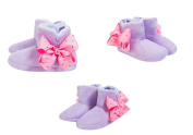 JoJo Bows Bootie Slippers Signature Collection Bows Ballerina Slipper-Best Present for Your Little Girl