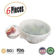 Reusable Eco Silicone Food Wraps,Seal Bowl Covers, Food Stretch Lids,Environmental Kitchen Tools