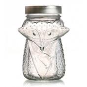 Glass jar with lid 55 cl - Fox