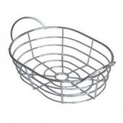 Chrome Wire Fruit bowl by Chabrias Ltd