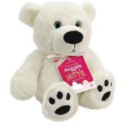 Aroma Home Polar Bear Hottie Microwaveable Insert