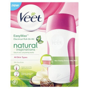 Veet Easy Wax Naturals Electrical Roll-On Kit by Veet