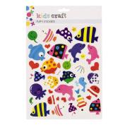 Kids' Art & Craft Puffy Stickers 1 Assorted