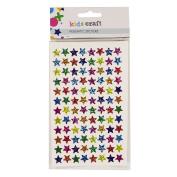 Kids' Art & Craft Prismatic Stickers Assorted