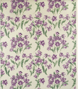 Equipo DRT Holland Fabric with Tulips 58x35x5 cm lilac