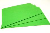 10 x A4 Felt Sheets - Green - Arts & Craft Fabric Material