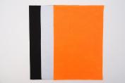 10 x A4 Felt Sheets - Halloween Colours - Arts & Craft Fabric Material