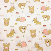 Cotton Floral Fabric ,Assorted Pattern Cotton Fabric Cloth For DIY Crafts Sewing 50cm*80cm