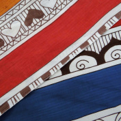 Indian Quilt Multicolor Cotton Fabric 100cm Stripe Sew Apparel Drape Sewing Fabric By Per Yard