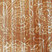 Cotton Poplin Yellow Fabric Floral 110cm Width Craft Apparel Drape India Craft Fabric By 1 Yard